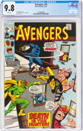 Bronze Age (1970-1979):Superhero, The Avengers #74 (Marvel, 1970) CGC NM/MT 9.8 White pages....