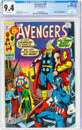 Bronze Age (1970-1979):Superhero, The Avengers #92 (Marvel, 1971) CGC NM 9.4 White pages....
