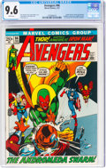 Bronze Age (1970-1979):Superhero, The Avengers #96 (Marvel, 1972) CGC NM+ 9.6 White pages....