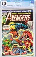 Bronze Age (1970-1979):Superhero, The Avengers #126 (Marvel, 1974) CGC NM/MT 9.8 White pages....