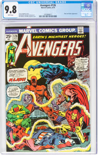 The Avengers #126 (Marvel, 1974) CGC NM/MT 9.8 White pages