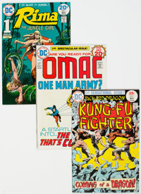 DC Bronze Age Comics Group (DC, 1970s) Condition: Average FN