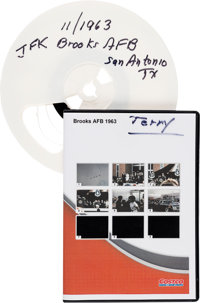 John F. Kennedy: Home Movie of November 21, 1963 Visit to San Antonio.... (Total: 2 Items)