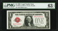 Small Size, Fr. 1500 $1 1928 Legal Tender Note. PMG Choice Uncirculated 63 EPQ.. ...