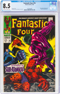 Fantastic Four #76 (Marvel, 1968) CGC VF+ 8.5 Off-white to white pages