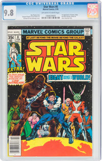 Star Wars #8 (Marvel, 1978) CGC NM/MT 9.8 Off-white to white pages