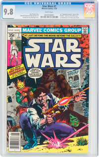 Star Wars #7 (Marvel, 1978) CGC NM/MT 9.8 White pages