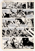 Original Comic Art:Panel Pages, Gene Day Master of Kung Fu #118 Story Page 28 Original Art (Marvel Comics, 1982). ...