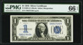 Small Size:Silver Certificates, Fr. 1606 $1 1934 Silver Certificate. PMG Gem Uncirculated 66 EPQ.. ...