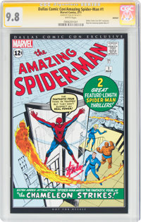 The Amazing Spider-Man #1 Dallas Comic Con Exclusive - Signature Series: Stan Lee (Marvel, 2011) CGC NM/MT 9.8 White pag...
