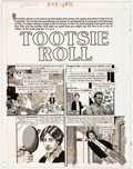 "Original Comic Art:Complete Story, John Severin Cracked Complete 7-page Story ""Tootsie Roll"" Original Art (Major Magazines, 1982).... (Total: 7 Original Art)"