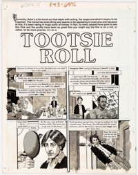 """John Severin Cracked Complete 7-page Story """"Tootsie Roll"""" Original Art (Major Magazines, 1982).... (Total: 7 O..."""