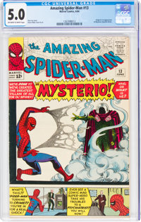 The Amazing Spider-Man #13 (Marvel, 1964) CGC VG/FN 5.0 Off-white to white pages