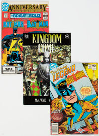 DC Modern Age Comics Box Lot (DC, 1980s-90s) Condition: Average NM-