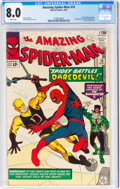 Silver Age (1956-1969):Superhero, The Amazing Spider-Man #16 (Marvel, 1964) CGC VF 8.0 White pages....