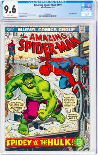 The Amazing Spider-Man #119 (Marvel, 1973) CGC NM+ 9.6 White pages