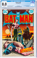 Bronze Age (1970-1979):Superhero, Batman #244 (DC, 1972) CGC VF 8.0 White pages....