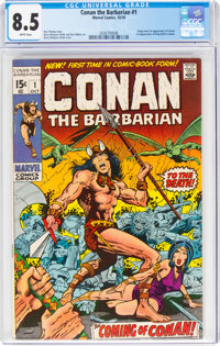 Conan the Barbarian #1 (Marvel, 1970) CGC VF+ 8.5 White pages
