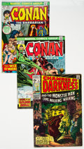 Bronze Age (1970-1979):Adventure, Conan the Barbarian Group of 57 (Marvel, 1970-77).... (Total: 57 )
