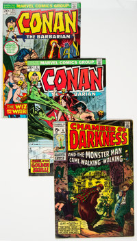 Conan the Barbarian Group of 57 (Marvel, 1970-77).... (Total: 57 )