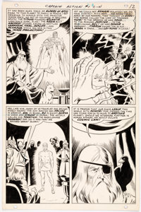 Wally Wood Captain Action #1 Story Page 10 Original Art (DC Comics, 1968)