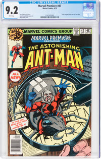 Marvel Premiere #47 Ant-Man (Marvel, 1979) CGC NM- 9.2 White pages