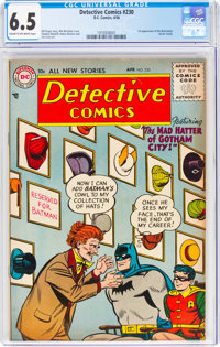 Detective Comics #230 (DC, 1956) CGC FN+ 6.5 Cream to off-white pages