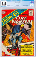 Silver Age (1956-1969):Adventure, Showcase #1 Fire Fighters (DC, 1956) CGC FN+ 6.5 Off-white to white pages....