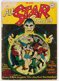All Star Comics #33 (DC, 1947) Condition: PR