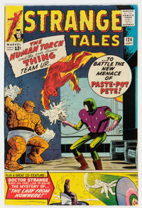 Strange Tales #124 (Marvel, 1964) Condition: VF+