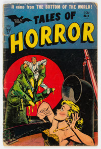 Tales of Horror #9 (Toby Publishing, 1954) Condition: GD-