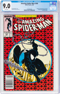 The Amazing Spider-Man #300 (Marvel, 1988) CGC VF/NM 9.0 White pages