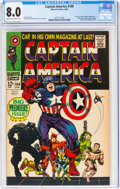 Silver Age (1956-1969):Superhero, Captain America #100 (Marvel, 1968) CGC VF 8.0 Cream to off-white pages....
