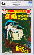 Bronze Age (1970-1979):Superhero, The Brave and the Bold #105 Batman and Wonder Woman - Murphy Anderson File Copy (DC, 1973) CGC NM+ 9.6 Off-white to white page...