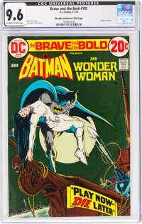 The Brave and the Bold #105 Batman and Wonder Woman - Murphy Anderson File Copy (DC, 1973) CGC NM+ 9.6 Off-white to whit...