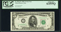 Fr. 1964-I* $5 1950C Federal Reserve Star Note. PCGS Choice New 63PPQ