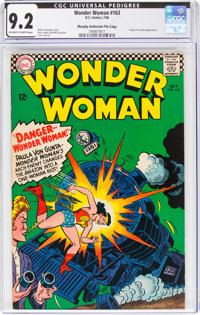 Wonder Woman #163 Murphy Anderson File Copy (DC, 1966) CGC NM- 9.2 Off-white to white pages