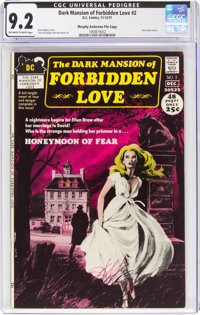 Dark Mansion of Forbidden Love #2 Murphy Anderson File Copy (DC, 1971) CGC NM- 9.2 Off-white to white pages