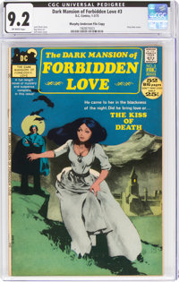 Dark Mansion of Forbidden Love #3 Murphy Anderson File Copy (DC, 1972) CGC NM- 9.2 Off-white pages