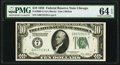 Fr. 2000-G $10 1928 Federal Reserve Note. PMG Choice Uncirculated 64 EPQ