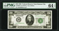 Small Size:Federal Reserve Notes, Fr. 2050-J $20 1928 Federal Reserve Note. PMG Choice Uncirculated 64 EPQ.. ...