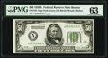 Fr. 2101-A $50 1928A Dark Green Seal Federal Reserve Note. PMG Choice Uncirculated 63
