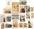 Photography:CDVs, Collection of American Indian And Western Related Photographs....