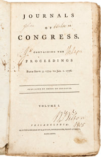 1777 Journals of Congress Compendium Volume