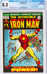 Iron Man #47 (Marvel, 1972) CGC VF+ 8.5 Off-white to white pages