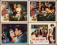 "Criss Cross & Other Lot (Universal International, 1949). Very Fine-. Lobby Cards (4) (11"" X 14"") &..."