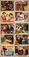 """Movie Posters:Western, Phantom Rancher & Other Lot (Colony Pictures, 1940). Fine/Very Fine. Title Lobby Cards (2) & Lobby Cards (19) (11"""" X 14""""). W... (Total: 21 Items)"""