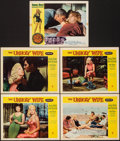 """Movie Posters:Crime, The Unholy Wife & Other Lot (RKO, 1957). Overall: Very Fine-. Lobby Cards (11) & Title Lobby Cards (2) (11"""" X 14""""). Crime.. ... (Total: 13 Items)"""