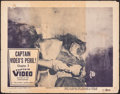 """Movie Posters:Serial, Captain Video, Master of the Stratosphere (Columbia, 1951). Fine-. Lobby Card (11"""" X 14""""). Chapter 3 -- """"Captain Video's Per..."""