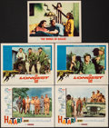 """Movie Posters:Adventure, Hatari! & Other Lot (Paramount, 1962). Very Fine. Lobby Cards (5) (11"""" X 14""""). Adventure.. ... (Total: 5 Items)"""
